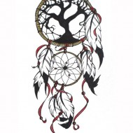 A4 Small Dream Catcher